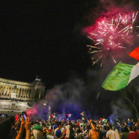 Italy erupts after Euro 2020 victory