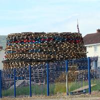 Man burnt on face and body at Ballysillan bonfire in north Belfast