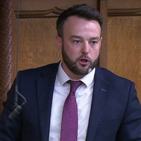 Colum Eastwood names Soldier F in parliament