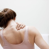 Polyester patch to help boost shoulder mobility