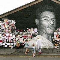Street art like Marcus Rashford mural creates 'solidarity' during adversity