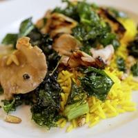 James St recipes: Speedy summer salads - Panzanella salad and Crispy Kale, Mushroom and Rice salad