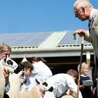 Oh poo – Charles puts his foot in it at Great Yorkshire Show