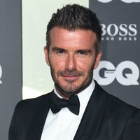 David Beckham goes back to his roots after bleaching his hair peroxide blond