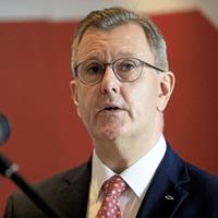 British government and EU must renegotiate NI Protocol, says Sir Jeffrey Donaldson