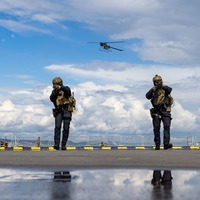 Commandos operate drone swarms in UK military first
