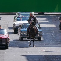In pictures: Indiana Jones filming continues in Glasgow city centre