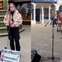 Busker aims to 'bring everybody together' by sharing performances on TikTok