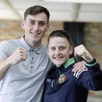 Ryan Burnett 'really proud' of ex-club-mates Aidan and Michaela Walsh ahead of Olympic bow