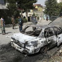 Afghan president slams Taliban after rockets target Kabul palace