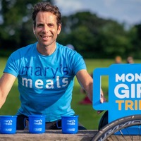 Cyclist Mark Beaumont backs charity's triple giving campaign