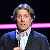 John Bishop in car crash after he swerved to avoid 'big chicken'