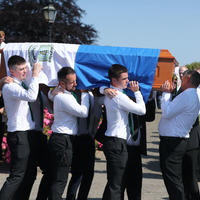 Shining star of tragic GAA captain Brendan Óg Duffy has faded behind the clouds, mourners told