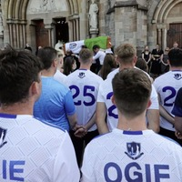 Mourners hear hopes Brendan Óg Duffy 'star would shine on his family and on the great GAA pitches and stages of Ireland' cruelly taken away