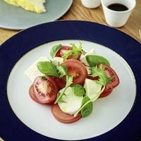 James St recipes: Easy four-step salads - Caprese Salad and Pink Grapefruit, Fennel and Parmesan Salad