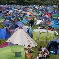 Music fans arrive at Latitude Festival amid heatwave