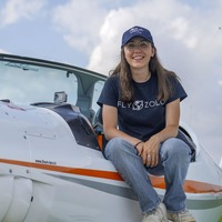 Pilot Zara, 19, aims to set solo round-the-world record in gap year challenge