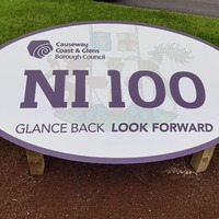 PSNI asked to investigate 'NI 100' sign theft