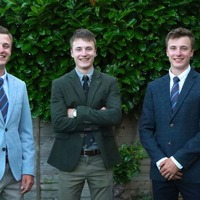 Triplets graduate together with first class degrees in same subject
