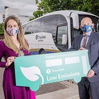 Translink introduces new low emission Goldliners in Belfast