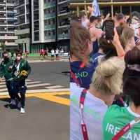 Ireland's champion rowers return to heroes' welcome at Olympic Village