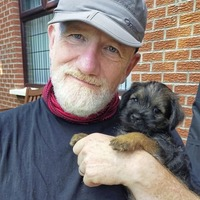 Jake O'Kane: And they call it puppy love... except I wanted to call our Border Terrier 'Protocol'