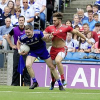 Monaghan forwards worry Tyrone skipper Hampsey more than making Anglo-Celt accepting speech
