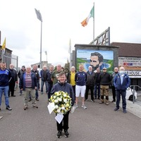 Wreath laid at Casement Park to honour Easter Rising leader