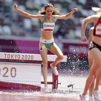 Olympic delight for Co Tyrone twin as she sets new steeplechase record