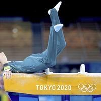 Gymnast Rhys 'holds head high' as Oylmpic medal slips from his grasp