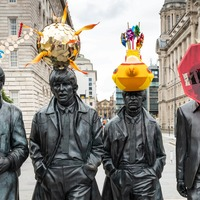 Liverpool's Beatles statues get makeover as part of arts project