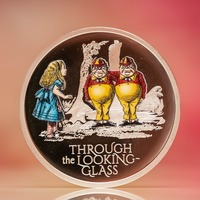 Through The Looking Glass coin released by Royal Mint