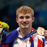 Olympic medallist 'will dive into special roast dinner to celebrate'