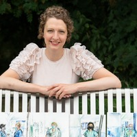 Artist sketches 'amazing' NHS staff during cancer recovery at pandemic peak