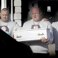 Funeral takes place of baby Liam O'Keefe killed at home in Ardoyne