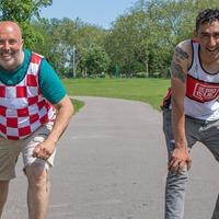 Big Issue vendors in training for London Marathon