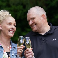 Couple's joy after scooping £5m Lotto jackpot