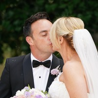 Sealed with a kiss: Ant McPartlin weds Anne-Marie Corbett