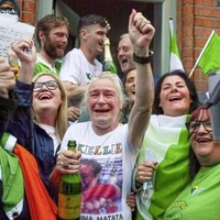 Viewers in north blocked by RTÉ from watching online clip of scenes of celebration in Dublin following Harrington success