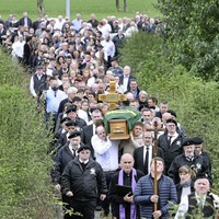 Funeral takes place for Co Derry republican Paul McGlinchey