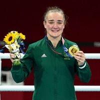 Kellie Harrington's partner 'never doubted' she would win gold