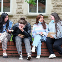 Delight at A-level results after two years of uncertainty