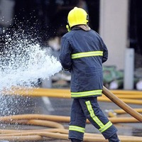 Police treating fire at block of flats in south Belfast as arson