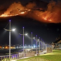 PSNI probe into Mournes wildfire ends without arrests
