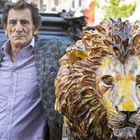 Celebrity-designed lion sculptures go on display in cities across the globe