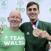Homecoming is a surreal experience for Olympic medallist Walsh