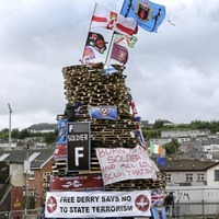 Controversial bonfire to go ahead in Derry's Bogside