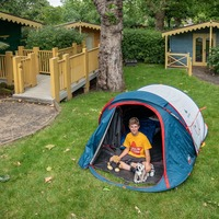11-year-old charity camper to celebrate 500th night outside with 'wild' camp