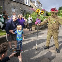 'Hip hip hooray': South Queensferry continues Burryman's Day tradition