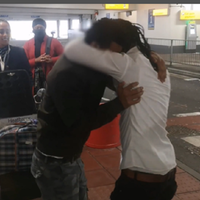 Refugee brothers reunited at Heathrow Airport after five years apart